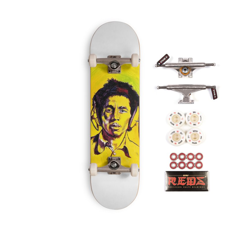bob Accessories Skateboard by paintings by Seamus Wray