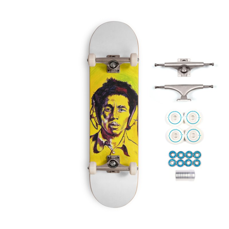 bob Accessories Complete - Basic Skateboard by paintings by Seamus Wray