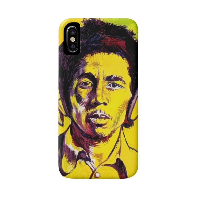 bob Accessories Phone Case by paintings by Seamus Wray