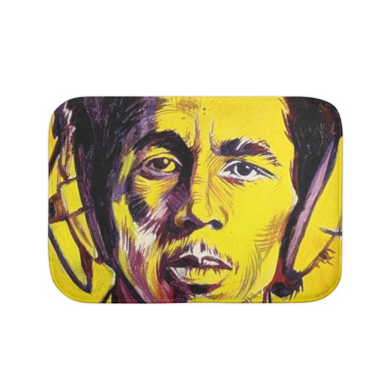 bob Home Bath Mat by paintings by Seamus Wray