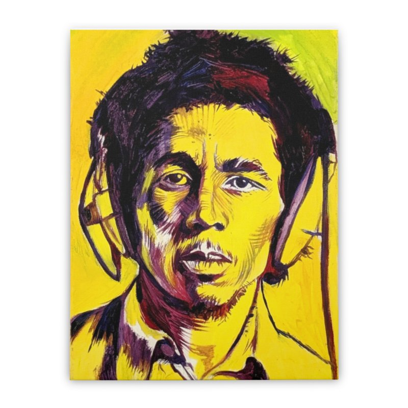 bob Home Stretched Canvas by paintings by Seamus Wray
