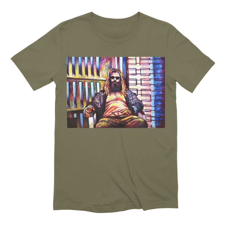 "fat thor Men's T-Shirt by Art Prints by Seama available under ""Home"""