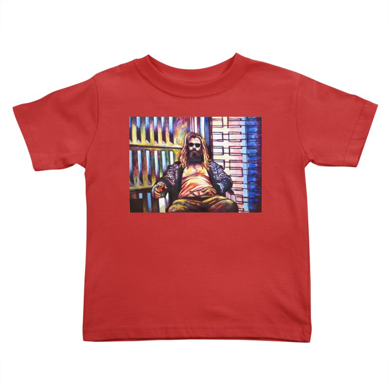 """fat thor Kids Toddler T-Shirt by Art Prints by Seamus Wray available under """"Home"""""""