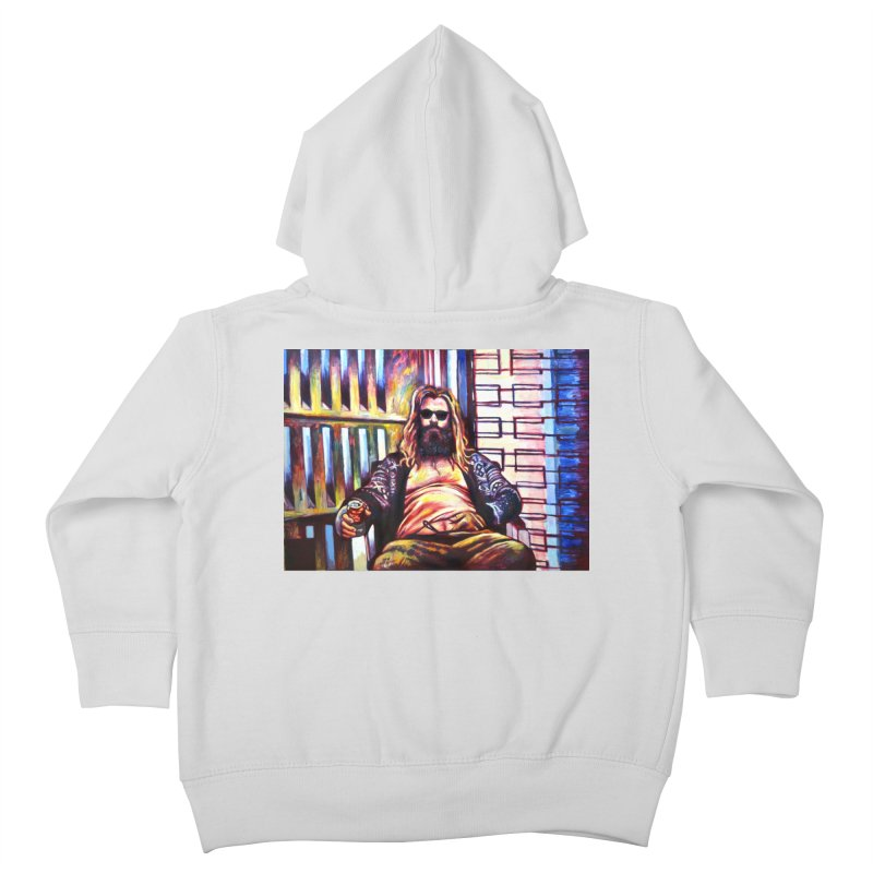 """fat thor Kids Toddler Zip-Up Hoody by Art Prints by Seamus Wray available under """"Home"""""""