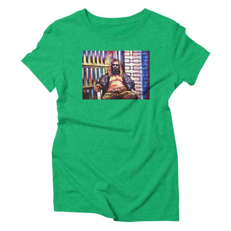 fat thor Women's Triblend T-Shirt by paintings by Seamus Wray