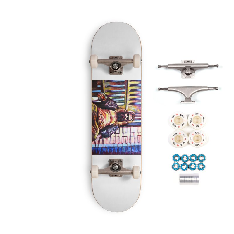 fat thor Accessories Complete - Premium Skateboard by paintings by Seamus Wray
