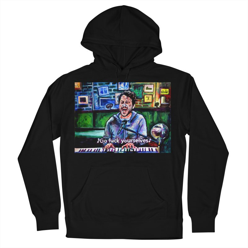 go fuck yourselves Men's French Terry Pullover Hoody by paintings by Seamus Wray