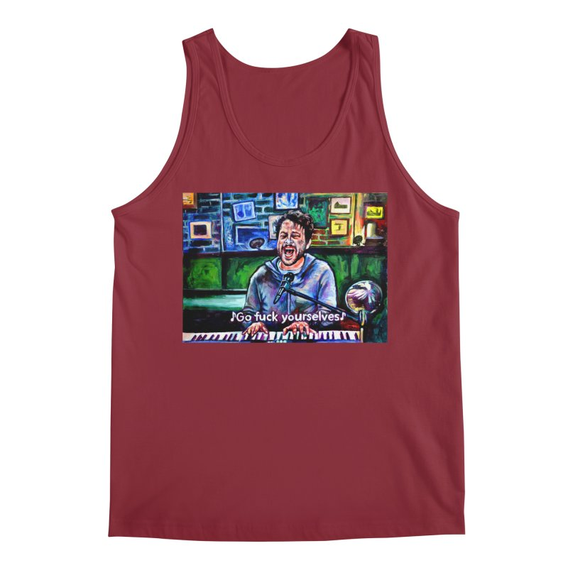 """go fuck yourselves Men's Tank by Art Prints by Seama available under """"Home"""""""