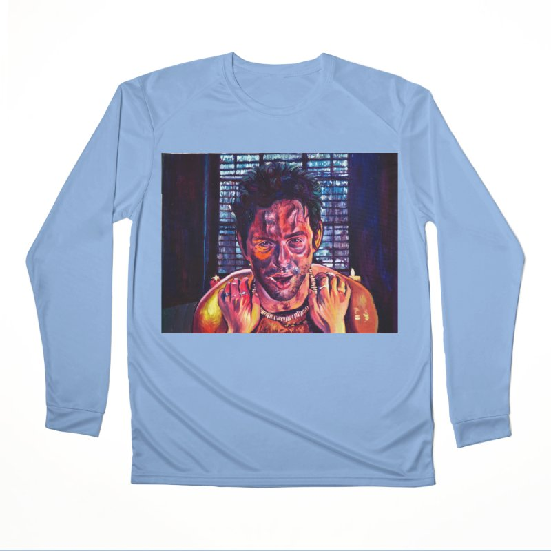 become the journey Men's Performance Longsleeve T-Shirt by paintings by Seamus Wray