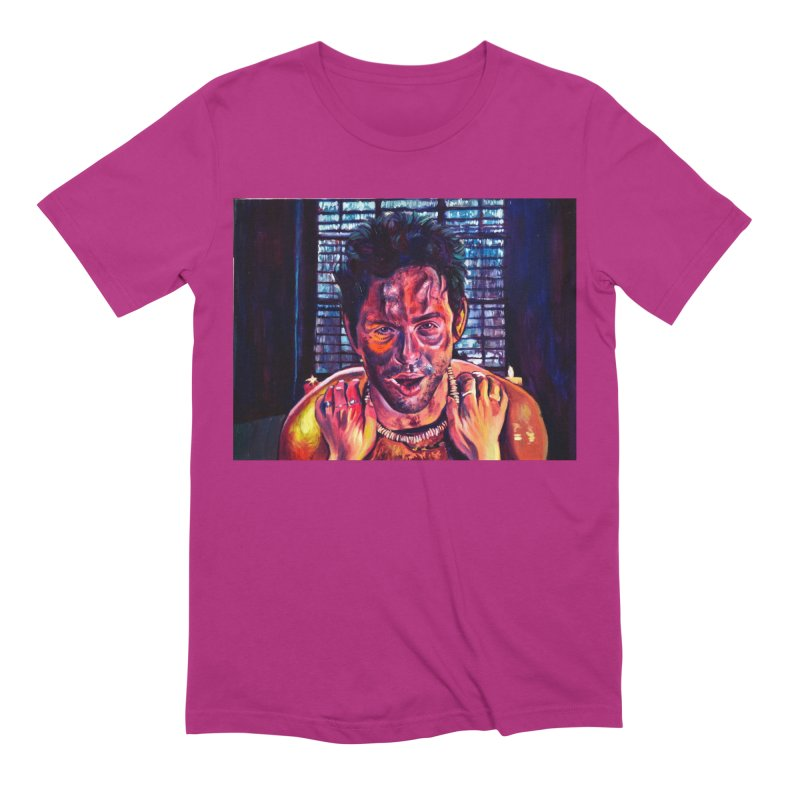 become the journey Men's Extra Soft T-Shirt by paintings by Seamus Wray
