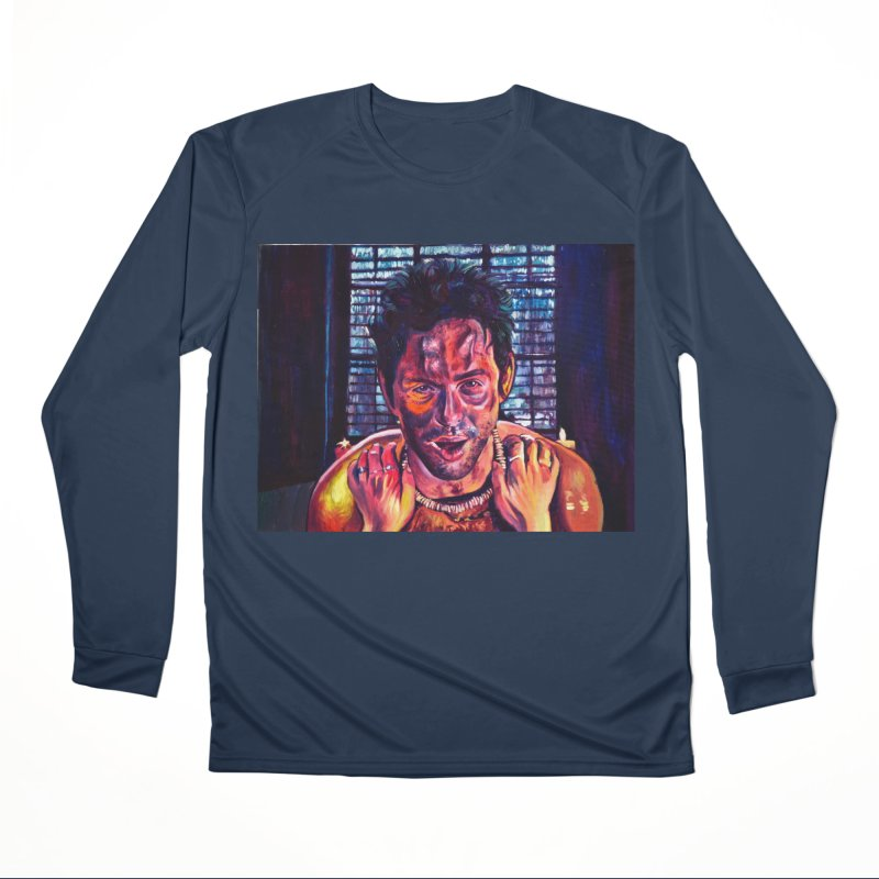 become the journey Women's Performance Unisex Longsleeve T-Shirt by paintings by Seamus Wray