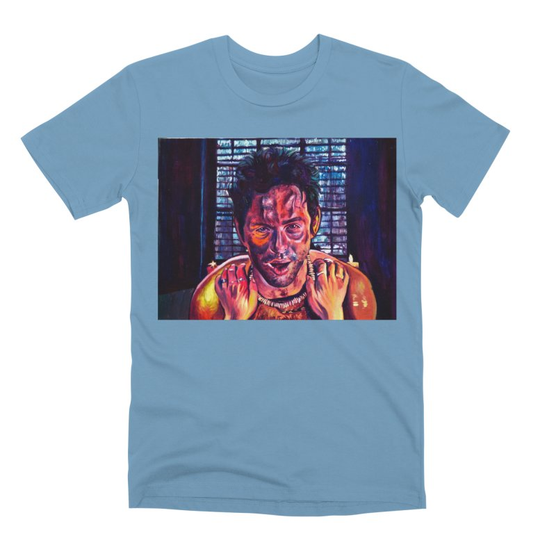 become the journey Men's Premium T-Shirt by paintings by Seamus Wray