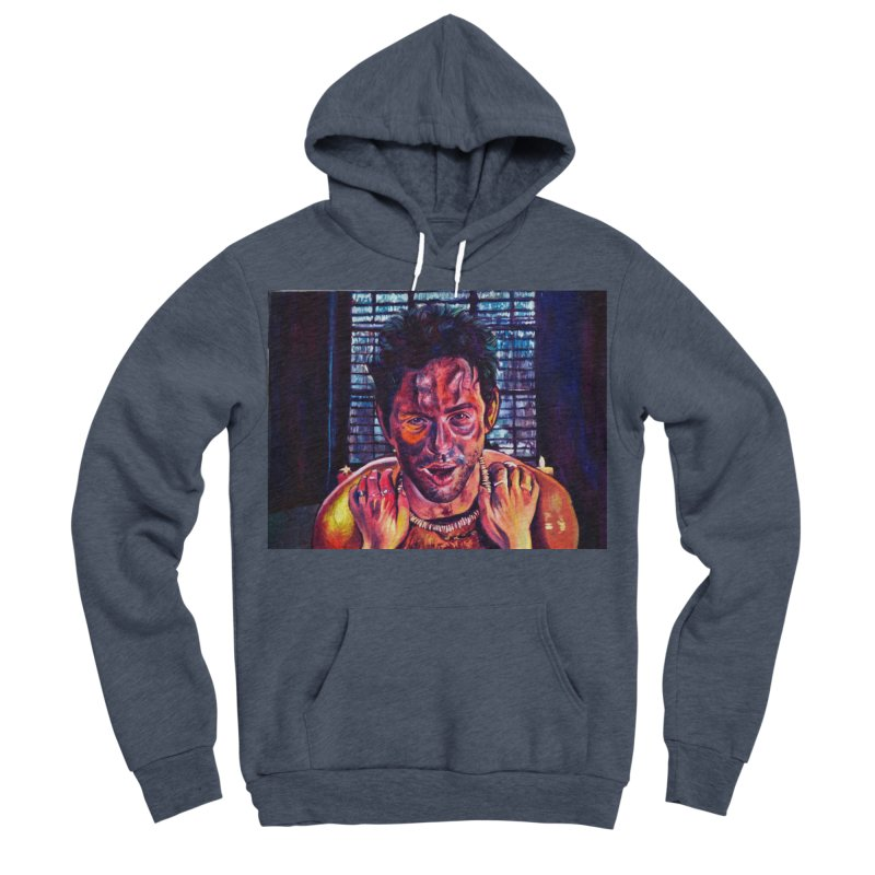 become the journey Women's Sponge Fleece Pullover Hoody by paintings by Seamus Wray