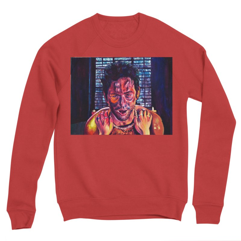 become the journey Men's Sponge Fleece Sweatshirt by paintings by Seamus Wray