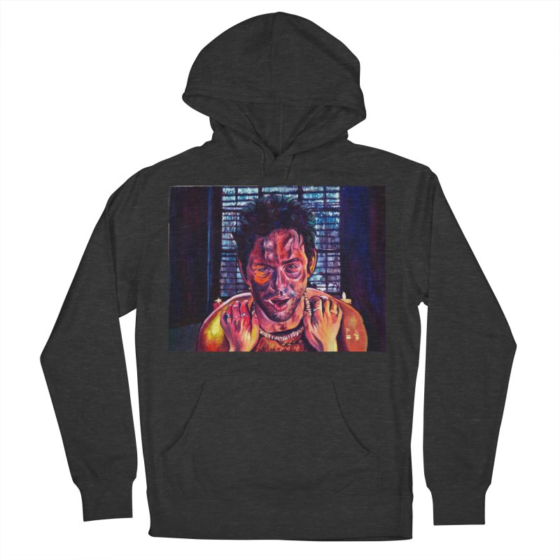 become the journey Men's French Terry Pullover Hoody by paintings by Seamus Wray