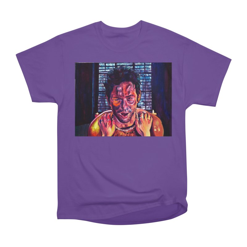 become the journey Women's Heavyweight Unisex T-Shirt by paintings by Seamus Wray