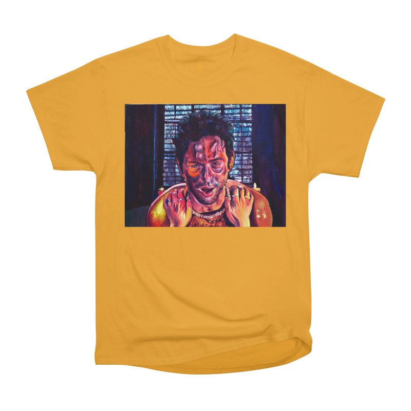 become the journey Men's Heavyweight T-Shirt by paintings by Seamus Wray