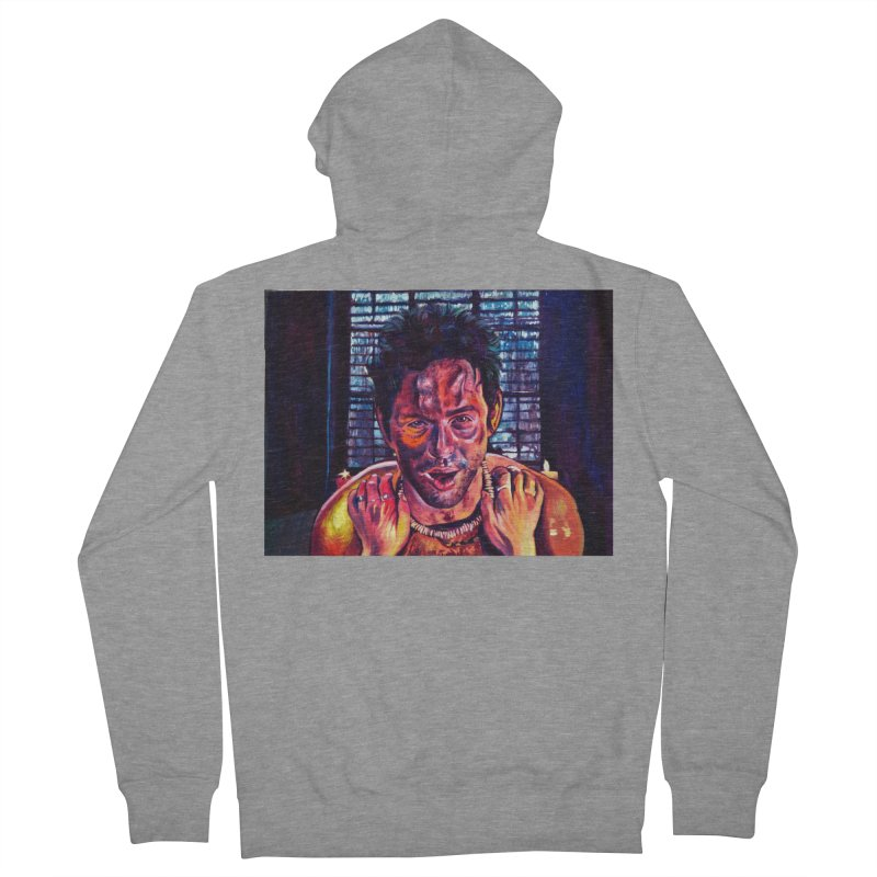 become the journey Women's French Terry Zip-Up Hoody by paintings by Seamus Wray