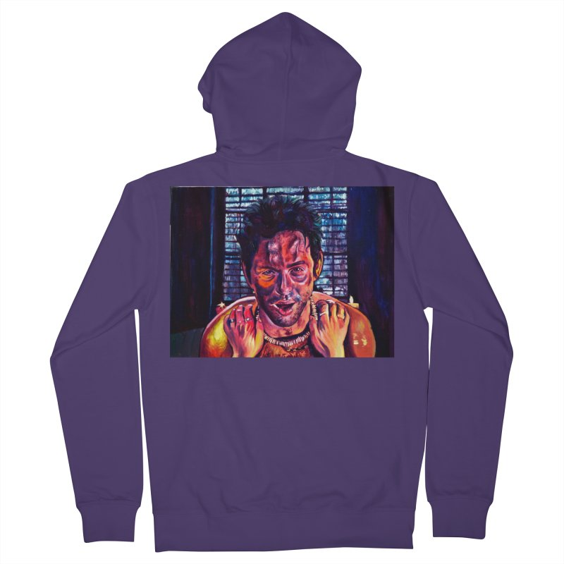 """become the journey Women's Zip-Up Hoody by Art Prints by Seamus Wray available under """"Home"""""""
