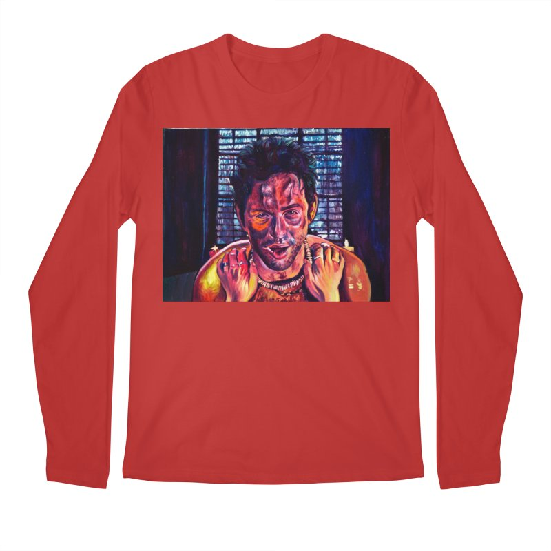 become the journey Men's Regular Longsleeve T-Shirt by paintings by Seamus Wray