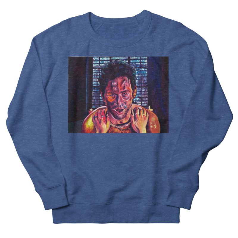 become the journey Men's Sweatshirt by paintings by Seamus Wray