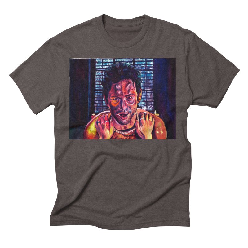 become the journey Men's Triblend T-Shirt by paintings by Seamus Wray