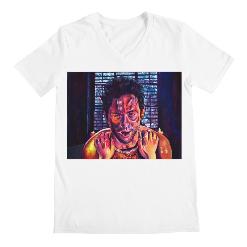 """become the journey Men's V-Neck by Art Prints by Seama available under """"Home"""""""