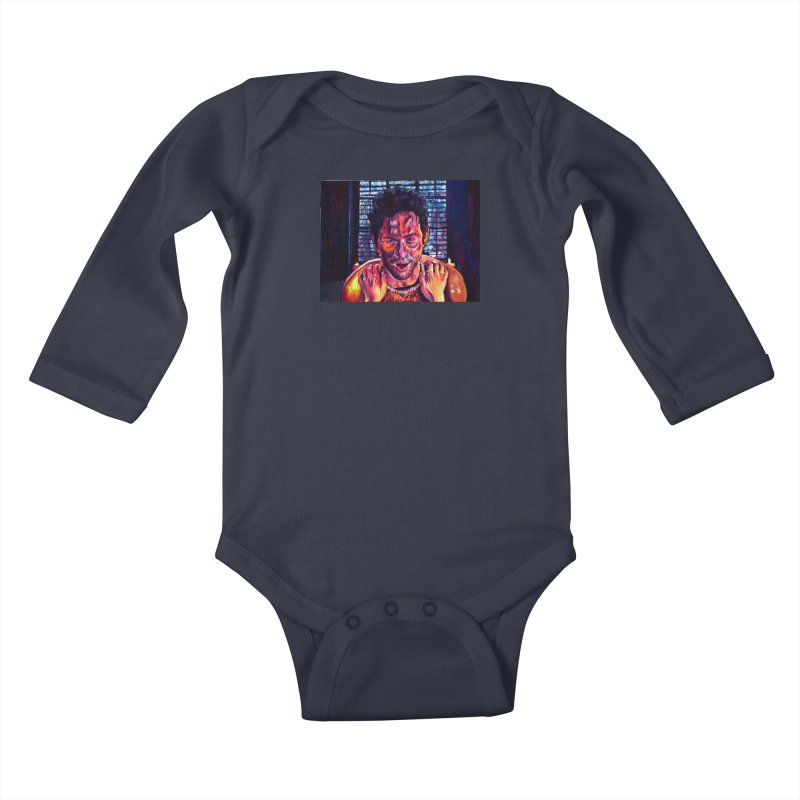 """become the journey Kids Baby Longsleeve Bodysuit by Art Prints by Seamus Wray available under """"Home"""""""