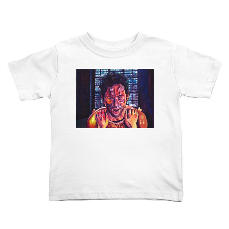 become the journey Kids Toddler T-Shirt by paintings by Seamus Wray