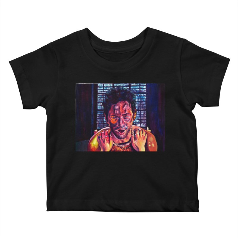 become the journey Kids Baby T-Shirt by paintings by Seamus Wray