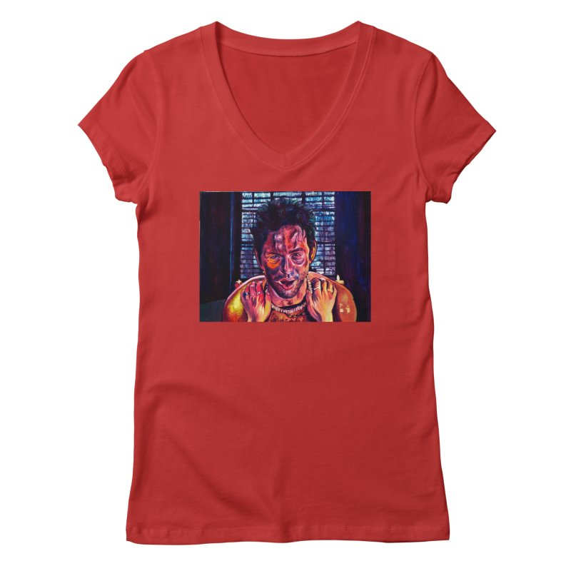"""become the journey Women's V-Neck by Art Prints by Seamus Wray available under """"Home"""""""