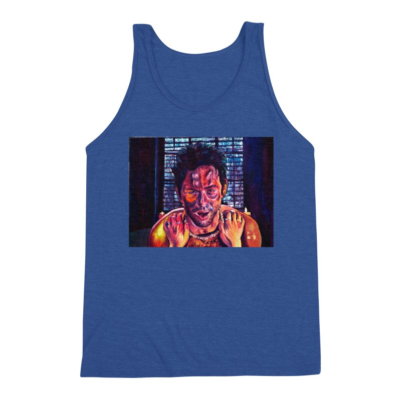 become the journey Men's Tank by paintings by Seamus Wray