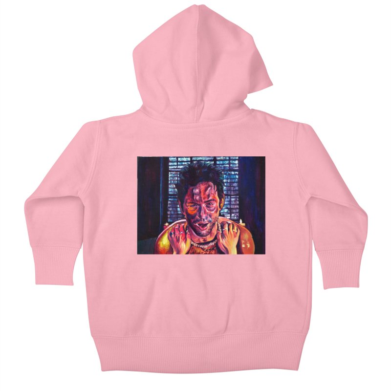 """become the journey Kids Baby Zip-Up Hoody by Art Prints by Seamus Wray available under """"Home"""""""
