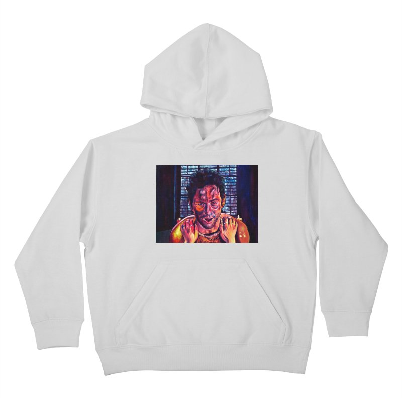 become the journey Kids Pullover Hoody by paintings by Seamus Wray