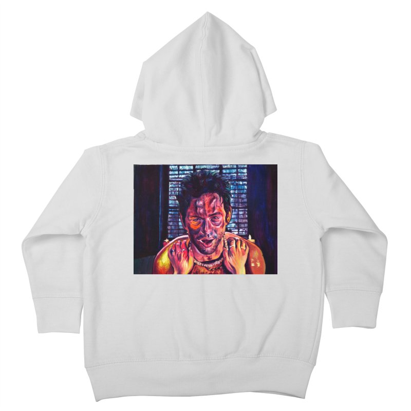 """become the journey Kids Toddler Zip-Up Hoody by Art Prints by Seamus Wray available under """"Home"""""""