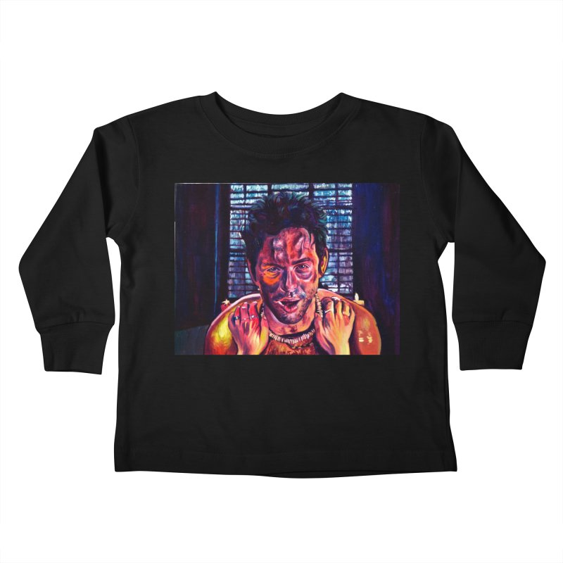 become the journey Kids Toddler Longsleeve T-Shirt by paintings by Seamus Wray