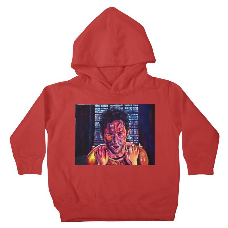 become the journey Kids Toddler Pullover Hoody by paintings by Seamus Wray