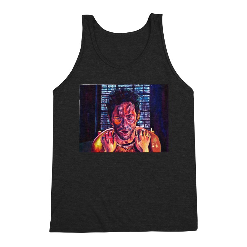 become the journey Men's Triblend Tank by paintings by Seamus Wray