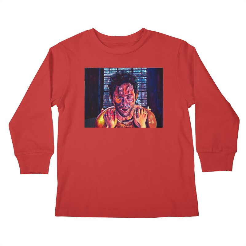 """become the journey Kids Longsleeve T-Shirt by Art Prints by Seamus Wray available under """"Home"""""""