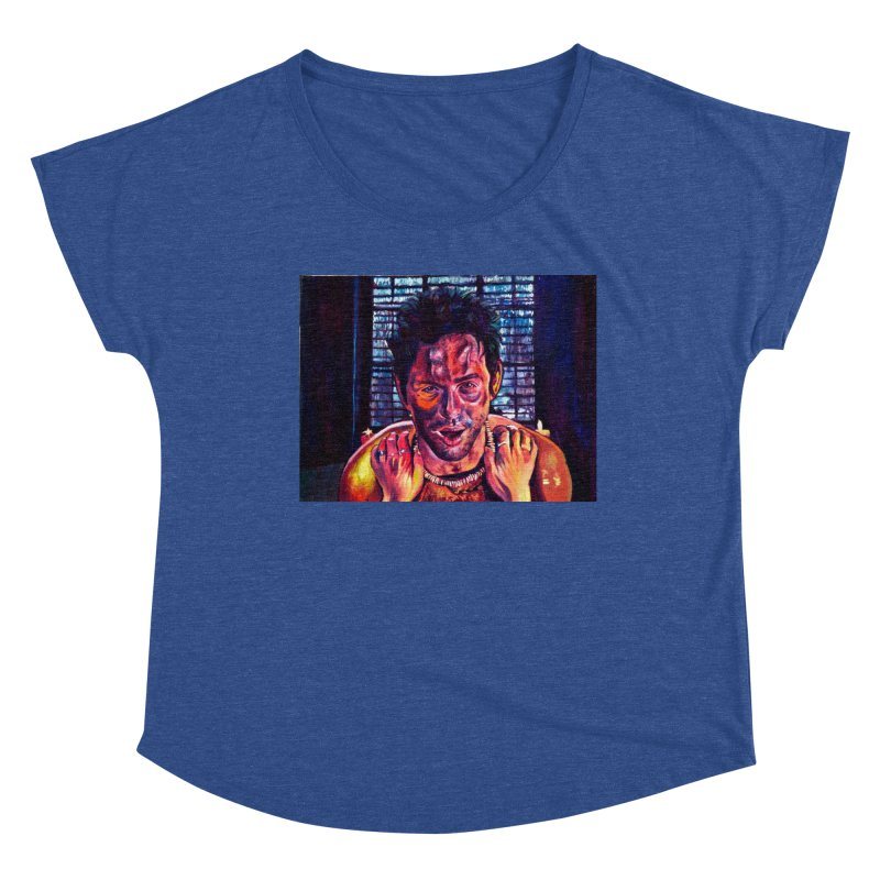 """become the journey Women's Scoop Neck by Art Prints by Seamus Wray available under """"Home"""""""