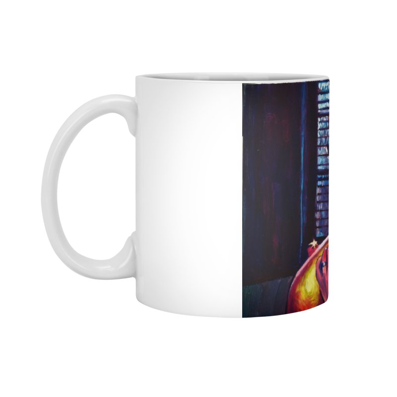 become the journey Accessories Standard Mug by paintings by Seamus Wray