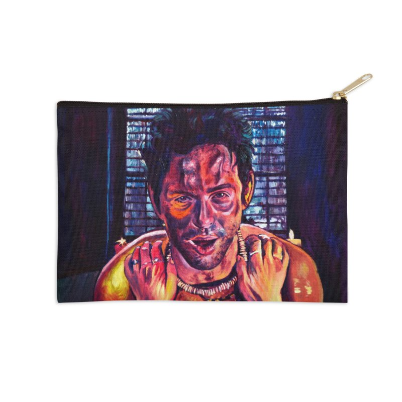 become the journey Accessories Zip Pouch by paintings by Seamus Wray