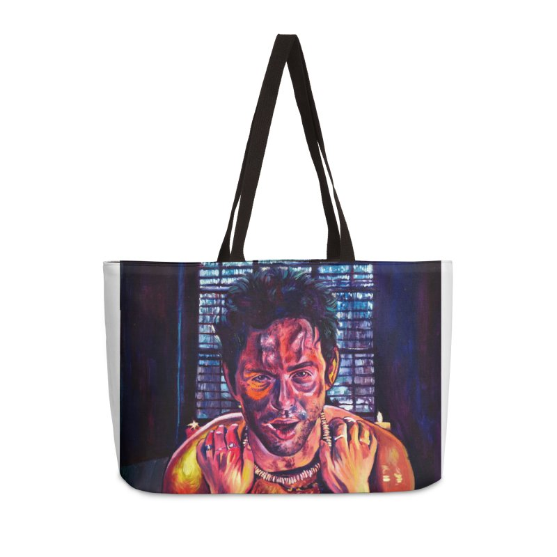 become the journey Accessories Weekender Bag Bag by paintings by Seamus Wray