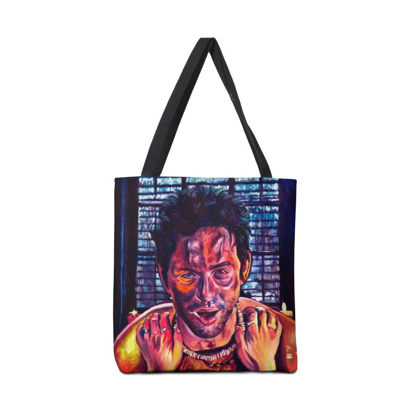 become the journey Accessories Tote Bag Bag by paintings by Seamus Wray