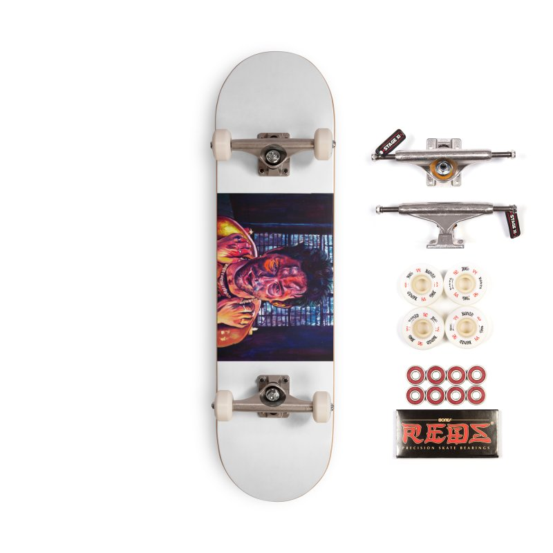 become the journey Accessories Complete - Pro Skateboard by paintings by Seamus Wray