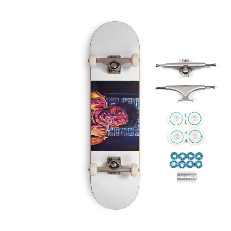 become the journey Accessories Complete - Basic Skateboard by paintings by Seamus Wray