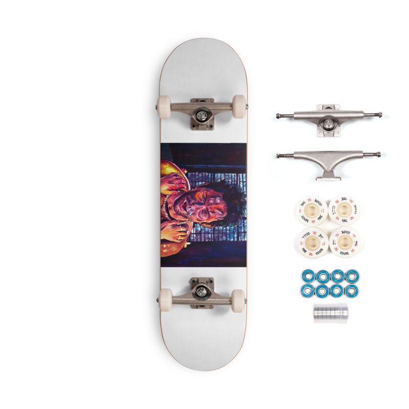 become the journey Accessories Complete - Premium Skateboard by paintings by Seamus Wray