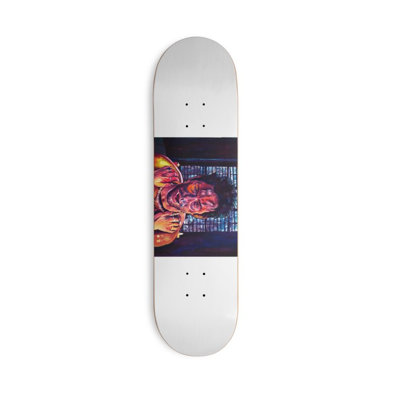 "become the journey Accessories Skateboard by Art Prints by Seama available under ""Home"""