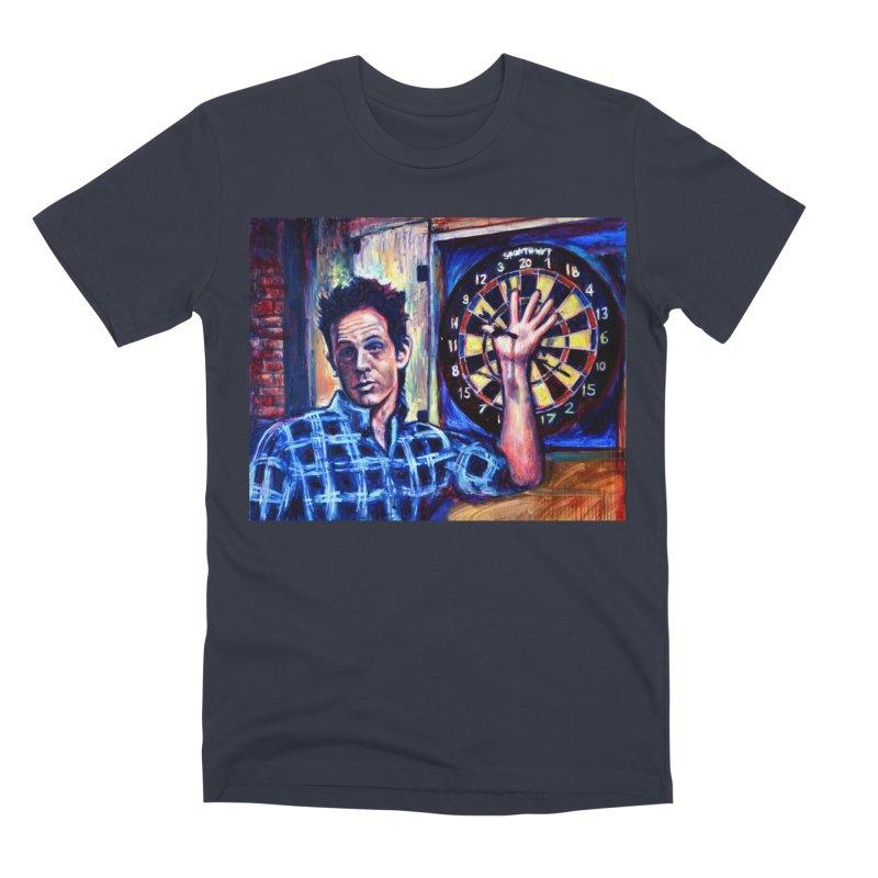 dart Men's Premium T-Shirt by paintings by Seamus Wray
