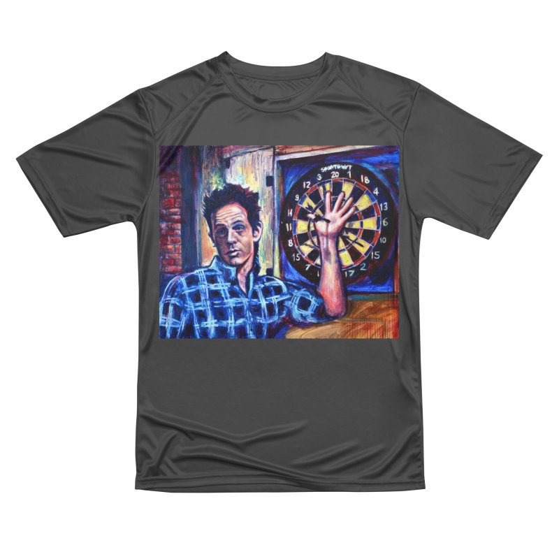 dart Women's Performance Unisex T-Shirt by paintings by Seamus Wray